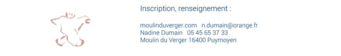 inscription stage moulin du verger